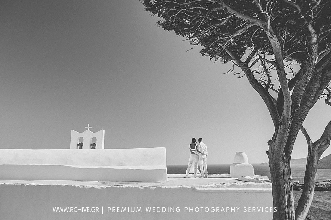 creative wedding photos sifnos