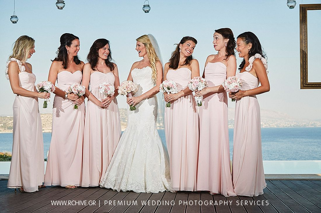 bridesmaids island private house wedding