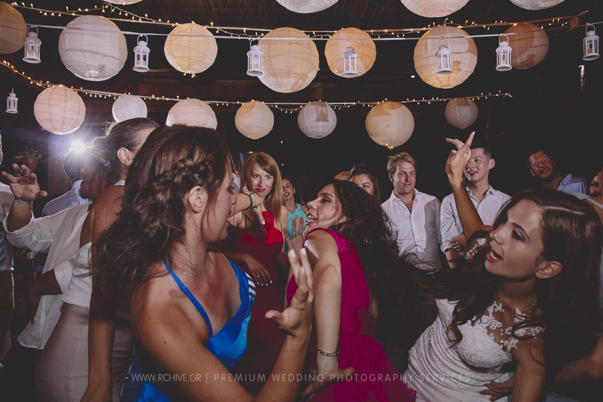 wedding reception sifnos