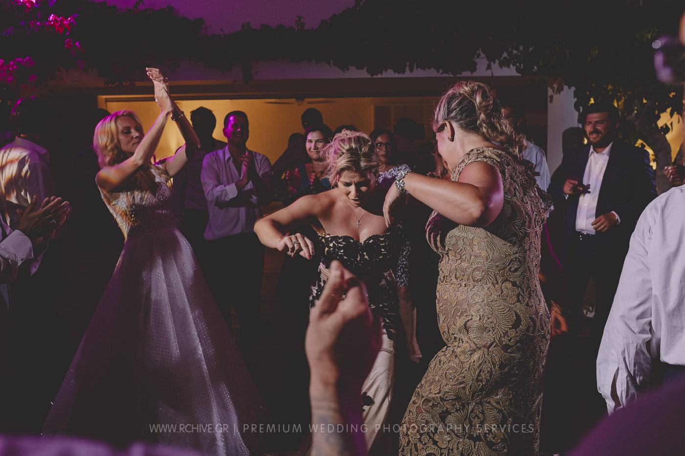 lagonissi wedding party