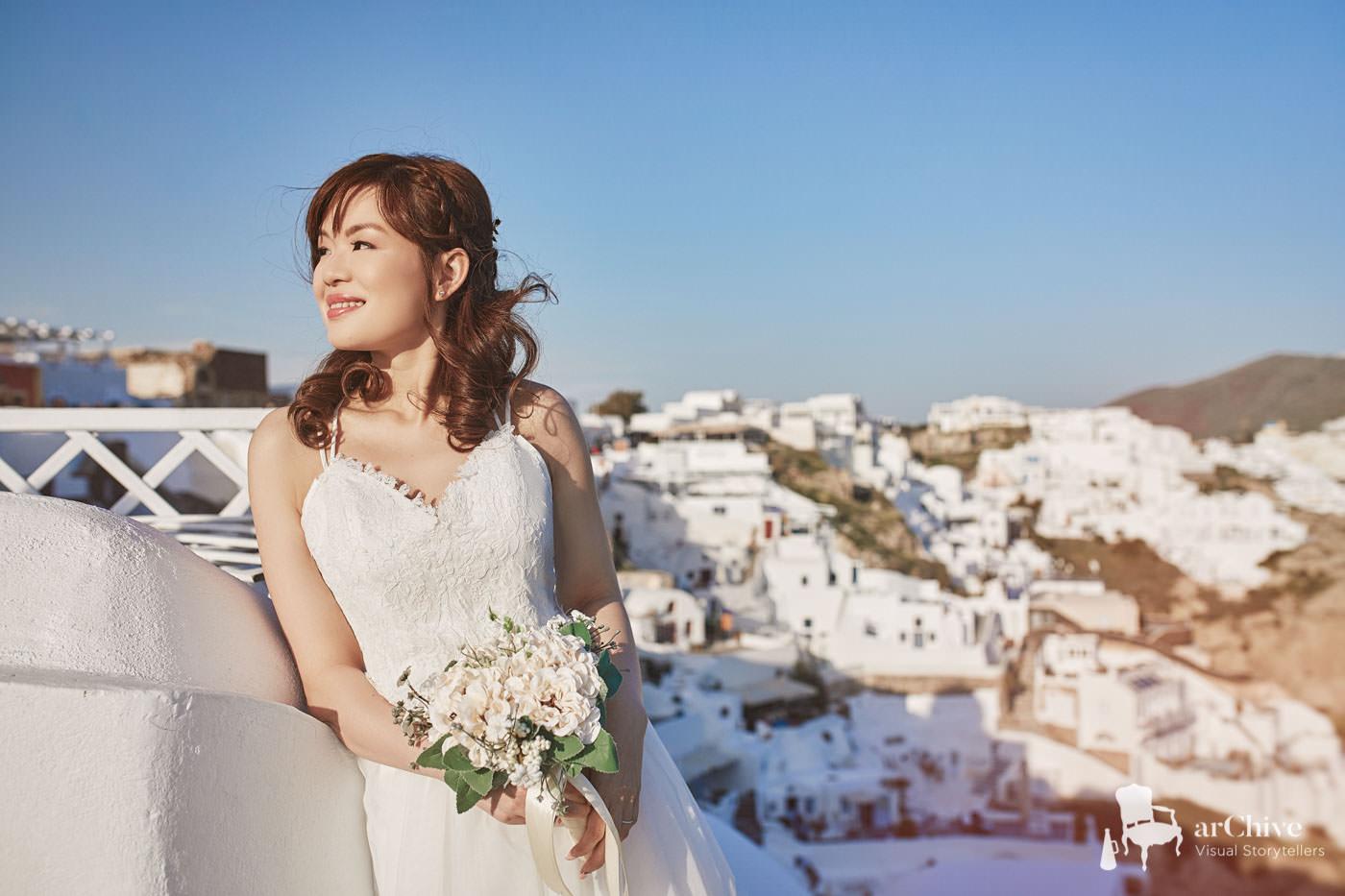 best Santorini wedding photography