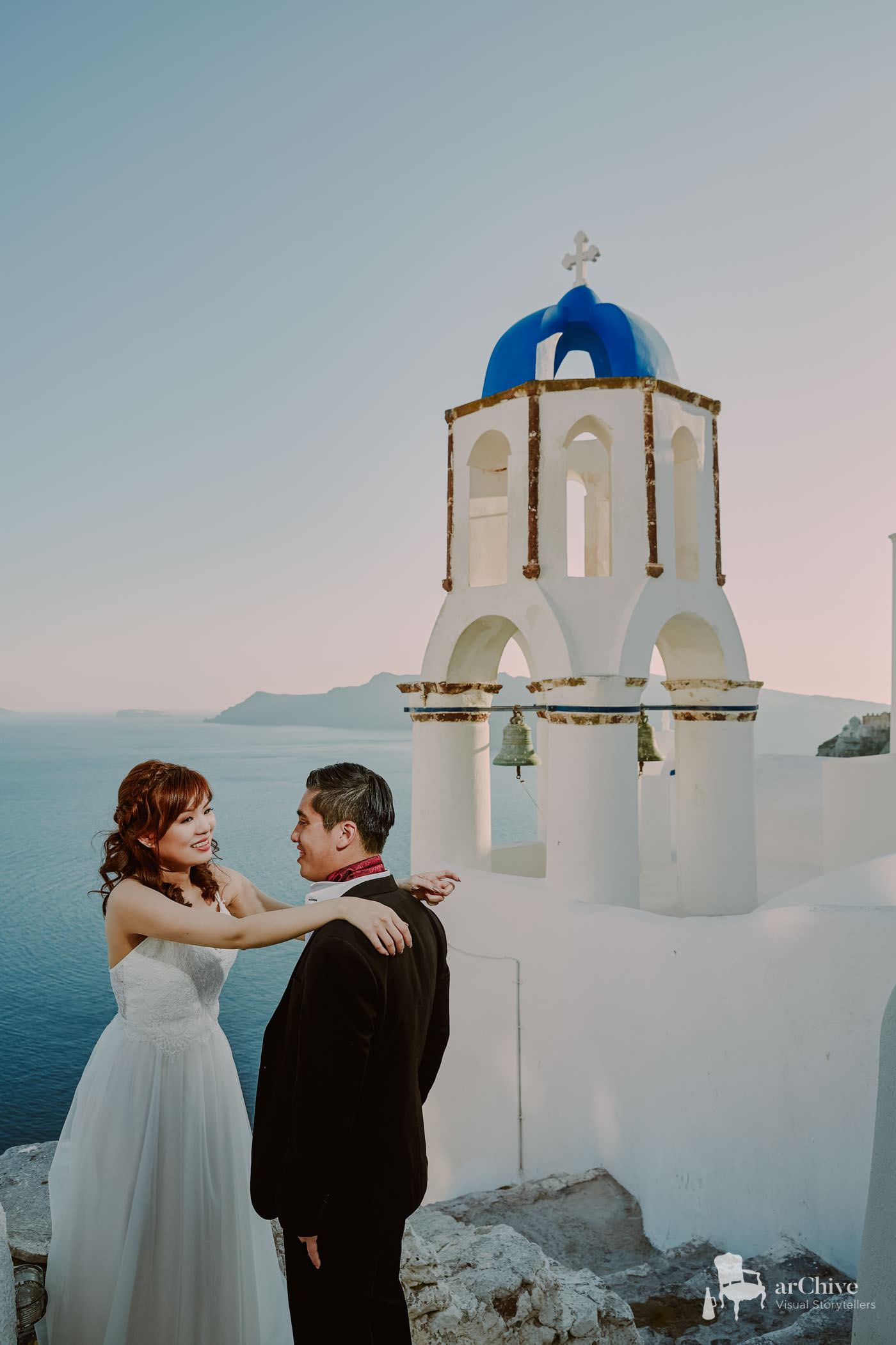 wedding photography santorini