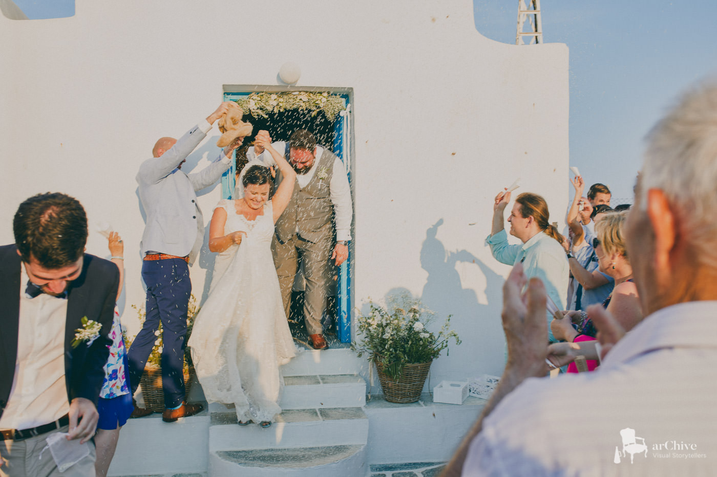 cyclades greece wedding photographer