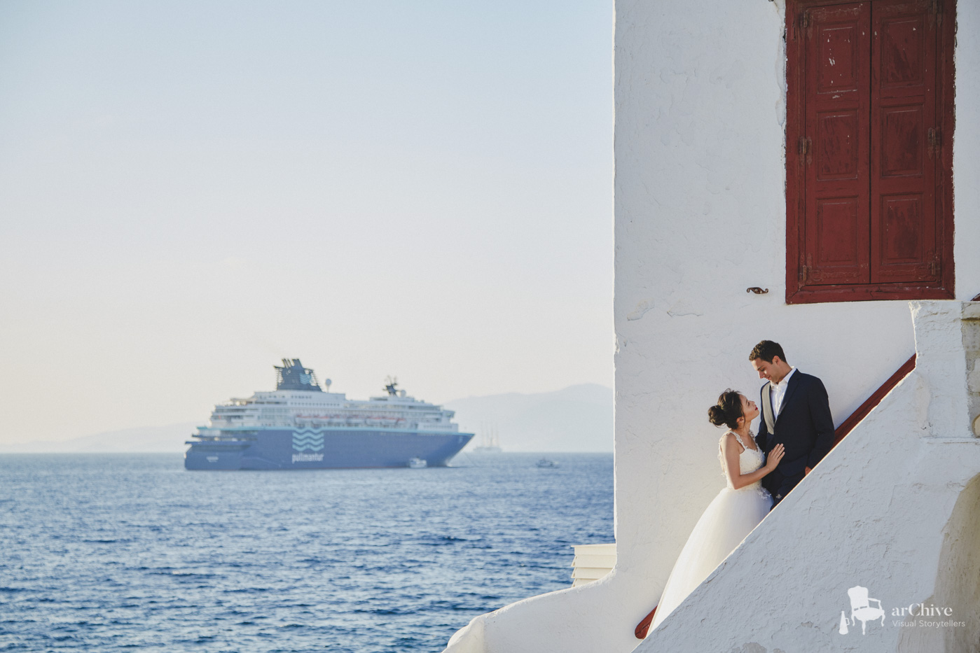 honeymoon greek islands