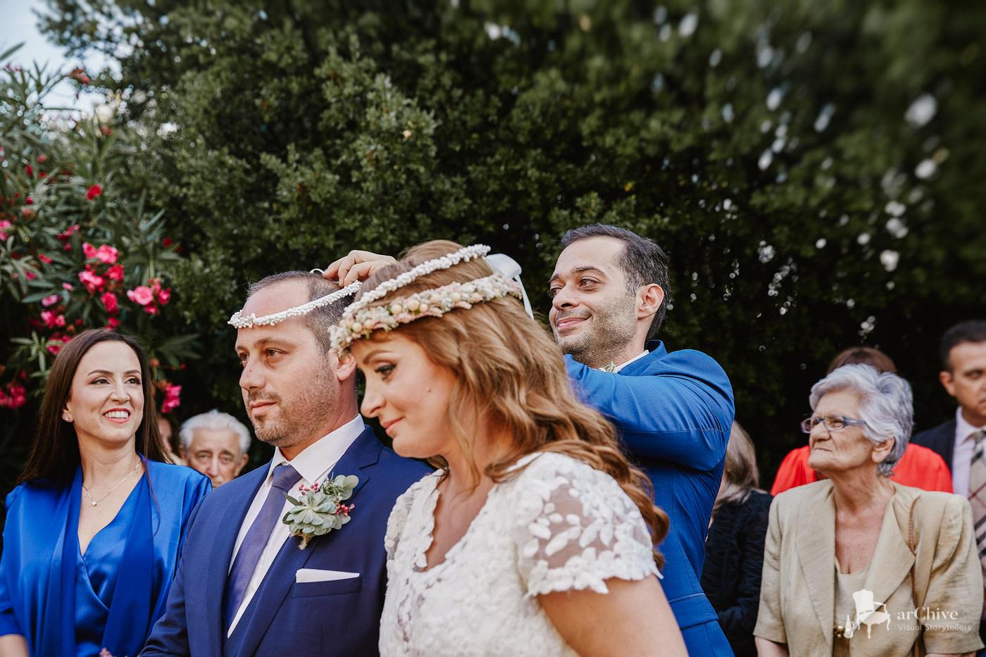 φωτογράφος γάμου μουσείο οίνου