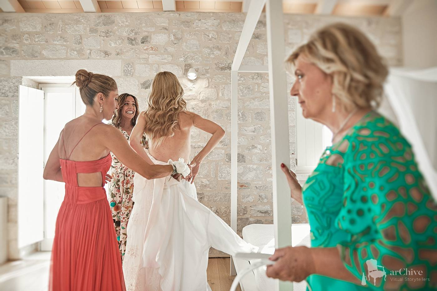 wedding mani