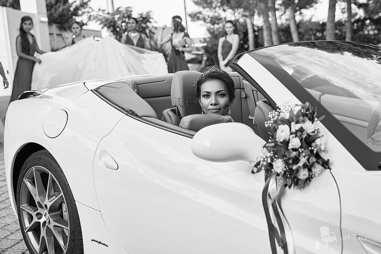 ferrari wedding athens
