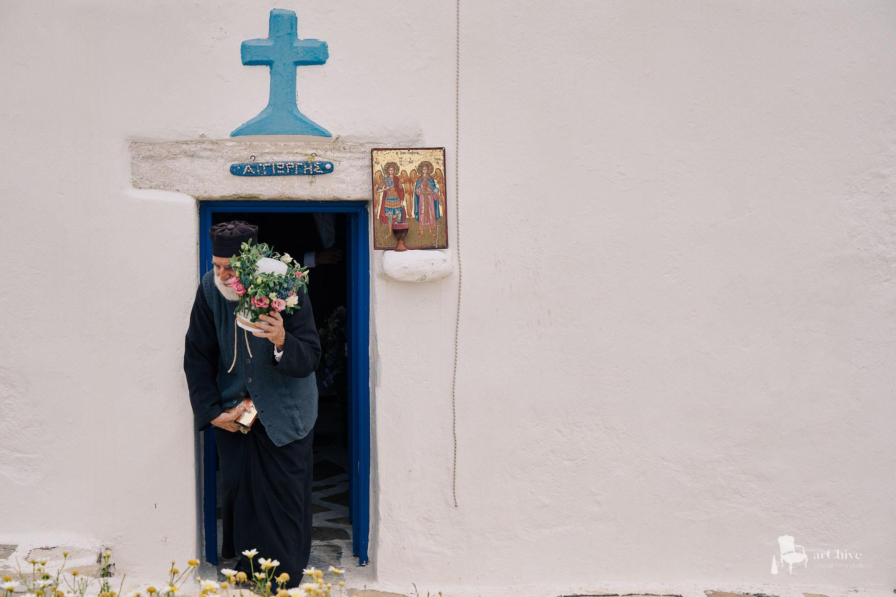 storytelling wedding photographer naxos