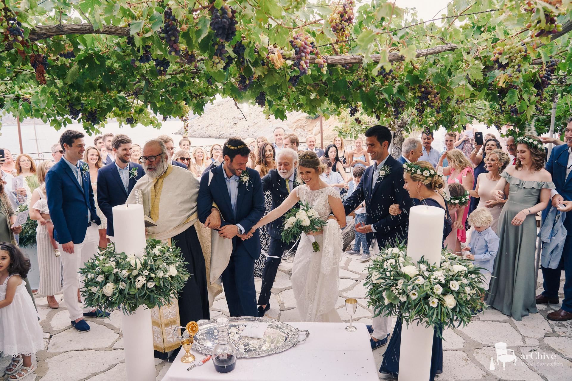 symi elegant wedding photography
