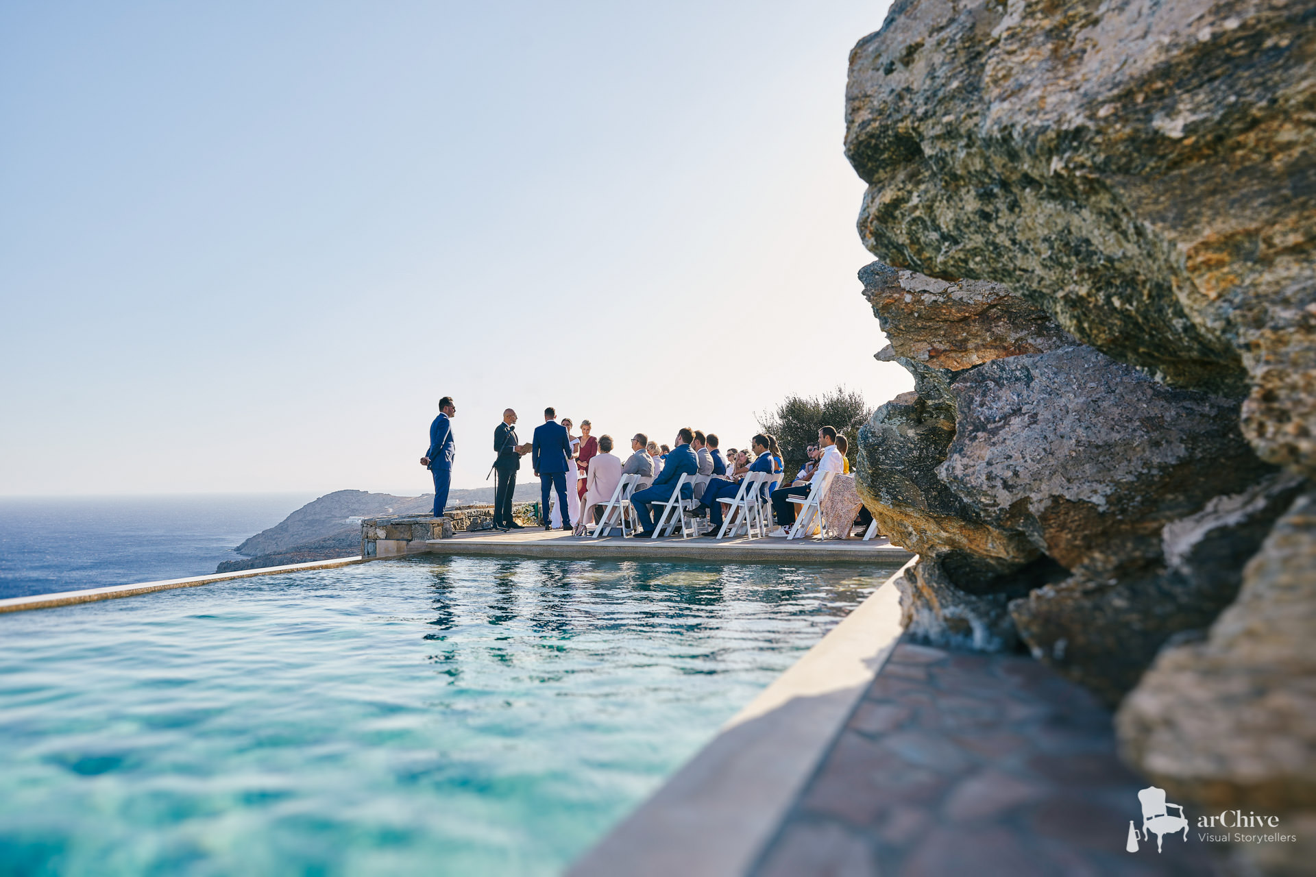 villa wedding photographer mykonos